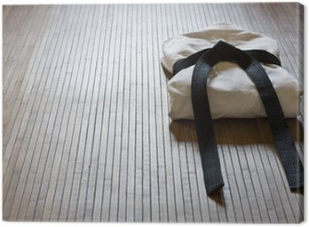 Obraz na Płótnie Judo gi z kopią miejsca