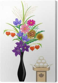 Obraz na Płótnie Jugoya Ikebana / oferty białym tyłem