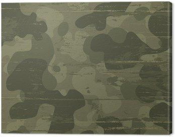 Obraz na Płótnie Kamuflażu wojskowego. ilustracji wektorowych, eps10