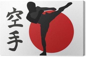 Obraz na Płótnie Karate
