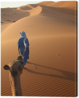 Obraz na Płótnie Karawane und Tuareg