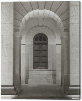 Obraz na Płótnie Klasyczna Zewnętrznej starej architektury