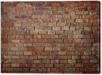 Obraz na Płótnie Klasyczny piękny murowany teksturą ściany