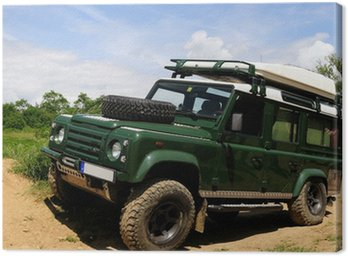 Obraz na Płótnie Klasyczny pojazd 4x4