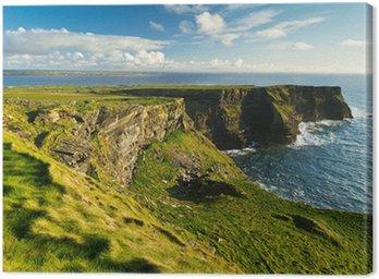Obraz na Płótnie Klify Moher w co. Clare, Irlandia