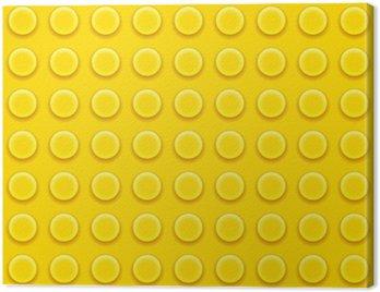 Obraz na Płótnie Klocki lego wzór
