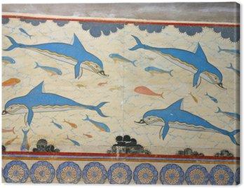 Obraz na Płótnie Knossos delfiny