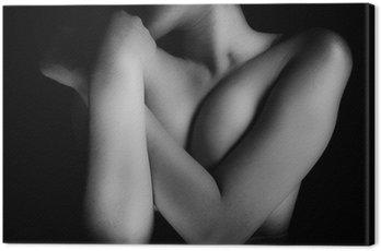 Obraz na Płótnie Kobieta nago