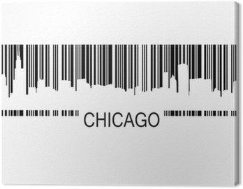 Obraz na Płótnie Kod kreskowy Chicago