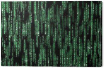 Obraz na Płótnie Kod matrycowy wyszczególniono