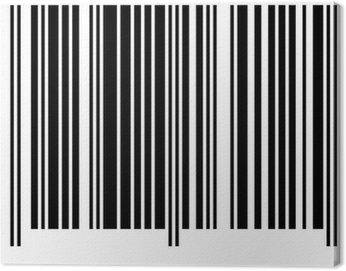 Obraz na Płótnie Kod paskowy