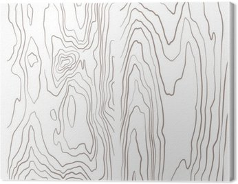 Obraz na Płótnie Kolekcja różnych monochromatycznych ilustracji tekstury drewna.