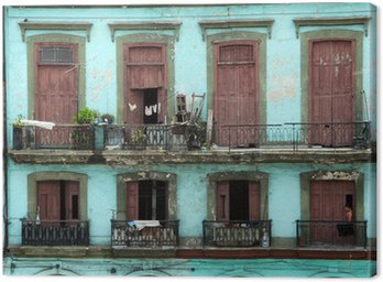 Obraz na Płótnie Kolonialnych rezydencji - Hawana