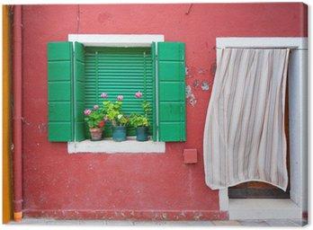 Obraz na Płótnie Kolorowe domy Burano, Wenecja, Włochy