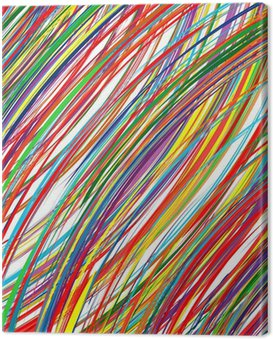 Obraz na Płótnie Kolorowe paski w tle abstrakcyjna