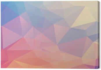 Obraz na Płótnie Kolorowe wielokąta