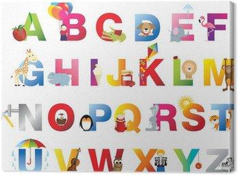 Kompletne Alfabet dla dzieci