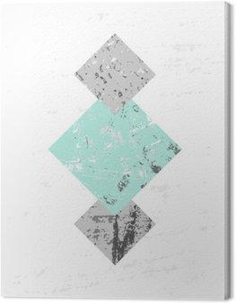 Kompozycja abstrakcyjna geometrycznej