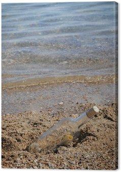 Obraz na Płótnie Komunikat w morzu