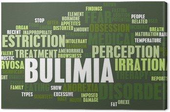 Obraz na Płótnie Koncepcja Bulimia