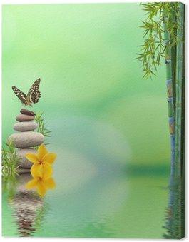 Obraz na Płótnie Koncepcja natura relaks, dobre samopoczucie, relaks