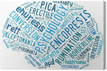 Obraz na Płótnie Koncepcje psychologiczne