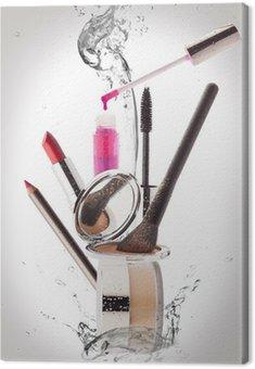 Obraz na Płótnie Kosmetyki. Make-up, Uroda i świeżość koncepcji.