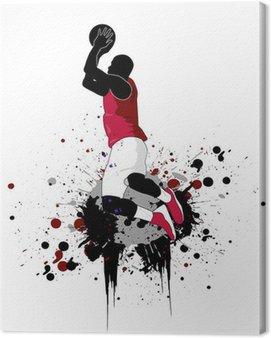 Obraz na Płótnie Koszykarz