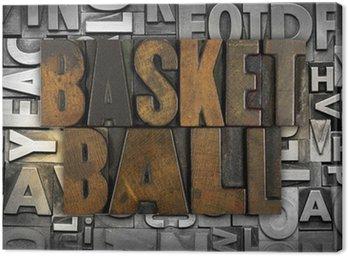 Obraz na Płótnie Koszykówka