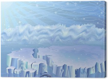 Obraz na Płótnie Krajobraz Arktyki