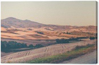 Krajobraz toskański rocznika