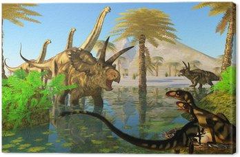 Obraz na Płótnie Kredy Swamp