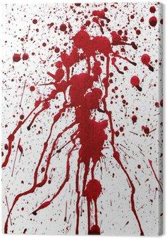 Obraz na Płótnie Krwawe plamy