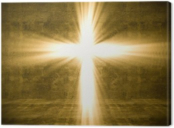 Obraz na Płótnie Krzyż światła