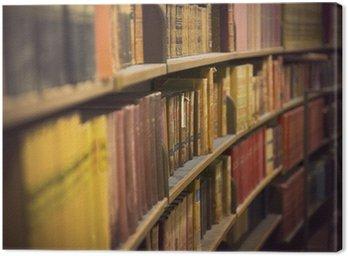 Obraz na Płótnie Księgarnia z starodruków