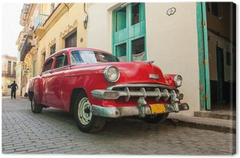 Obraz na Płótnie Kubańska stare samochody
