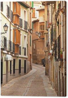 Obraz na Płótnie Ładne domy w starym mieście miasta