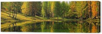 Obraz na Płótnie Lago Scin