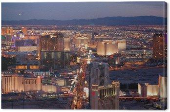 Obraz na Płótnie Las Vegas w nocy