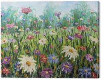 Lato dzikich kwiatów, obraz olejny