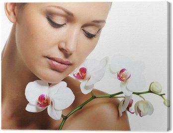 Obraz na Płótnie Leczenie skóry dla kobiet dorosłych urody