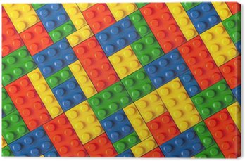 Obraz na Płótnie Lego tle