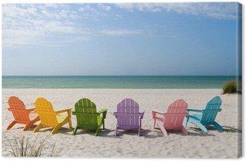 Obraz na Płótnie Letnie wakacje na plaży