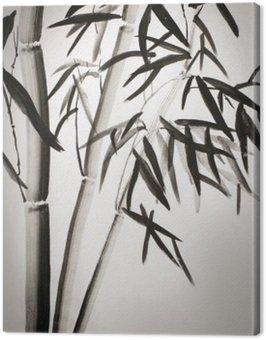 Obraz na Płótnie Liście bambusa