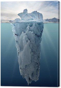 Obraz na Płótnie Lodowa z widokiem podwodnego