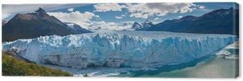 Obraz na Płótnie Lodowiec Perito Moreno, Patagonia, Argentyna - Panoramiczny widok