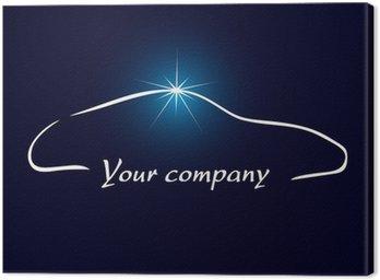 Obraz na Płótnie Logo firmy, motoryzacja, sprzątanie