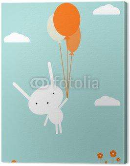 Obraz na Płótnie Lot balonem
