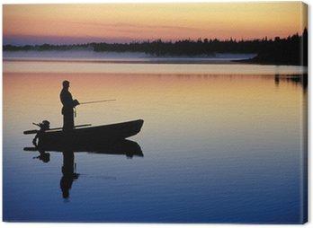 Obraz na Płótnie Łowienie Ryb