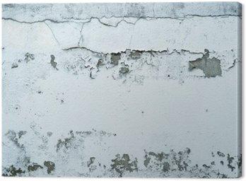 Łuszczącą się farbę na kamiennym murem